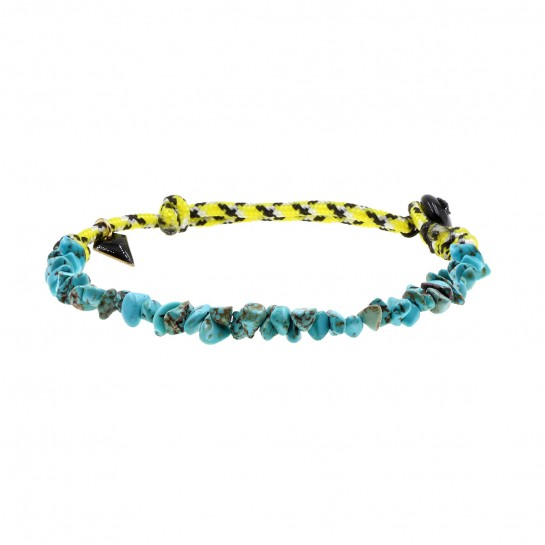 Anklet Facettes turquoise