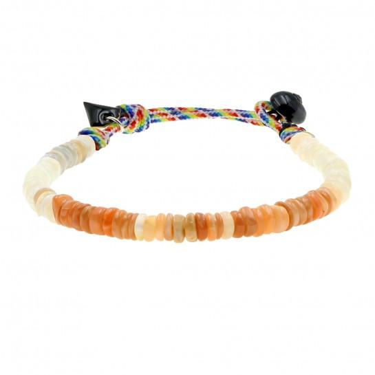Bracelet Puka simple pierre...