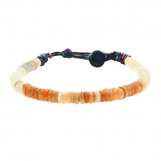 Bracelet Puka simple pierre...