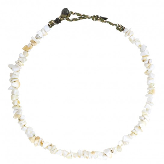 Collier Facettes coquillage