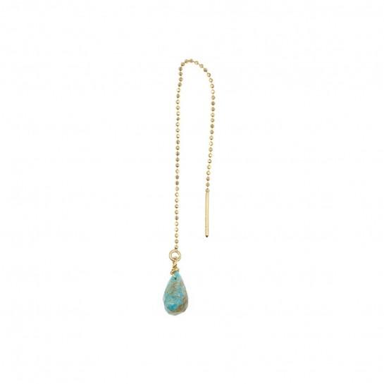 B.O Chaîne simple turquoise