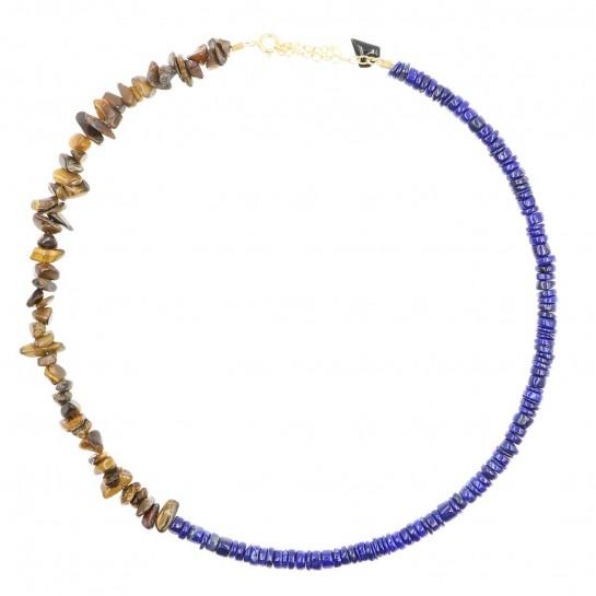 Collier Bigoût lapis-lazuli...