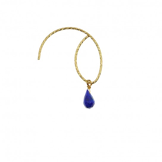 B.O Loop lapis-lazuli