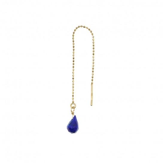 B.O Chaîne simple lapis-lazuli