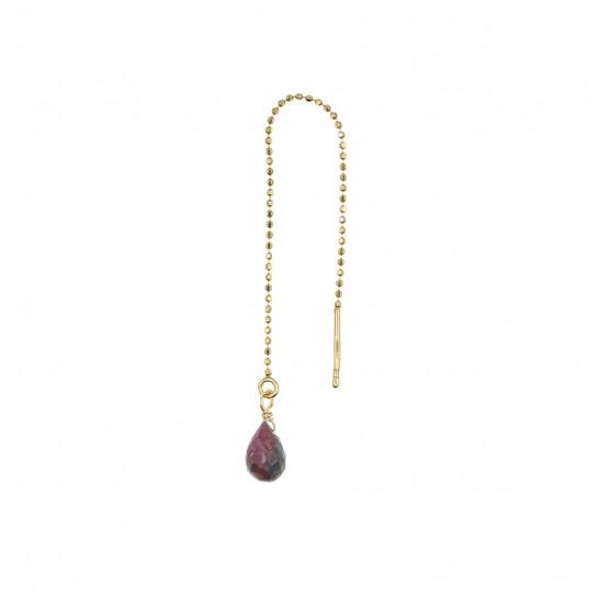 B.O Chaîne simple rubis...