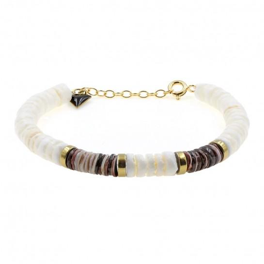 Bracelet Puka coquillage