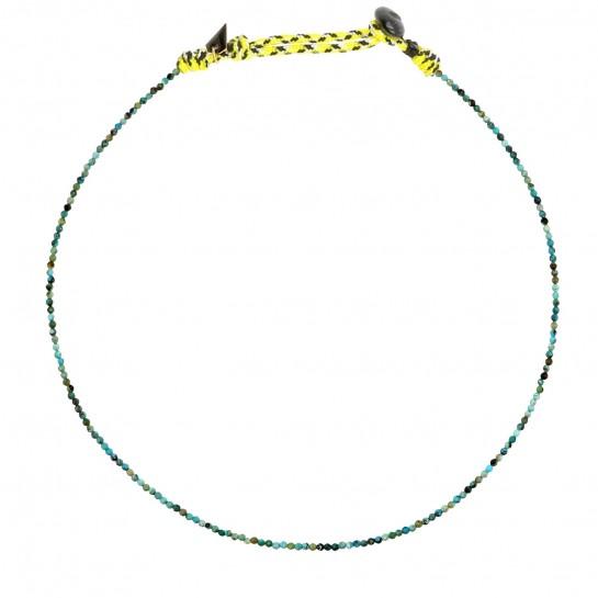 Collier Facettes turquoise