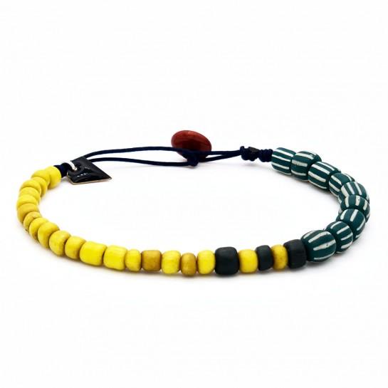 Bracelet Homme jaune et...
