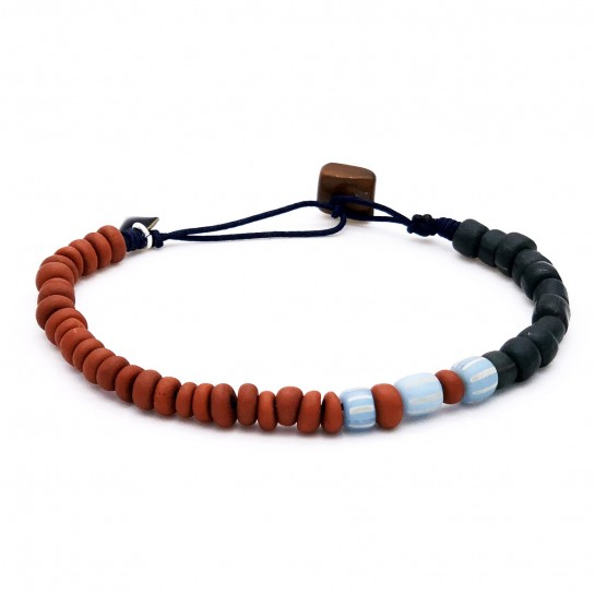 Bracelet Homme terracotta...
