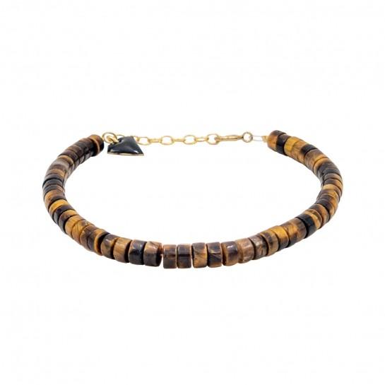 Bracelet Puka simple oeil...