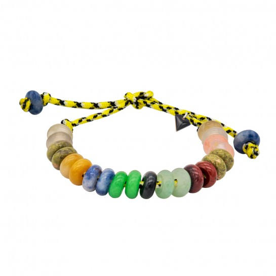 Bracelet Maxicool jaune et...