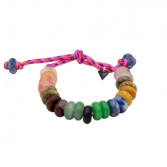 Bracelet Maxicool rose fluo
