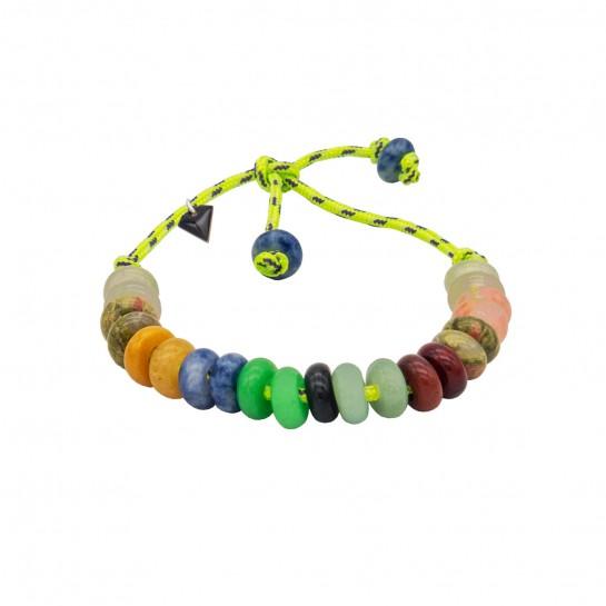 Bracelet Maxicool vert fluo