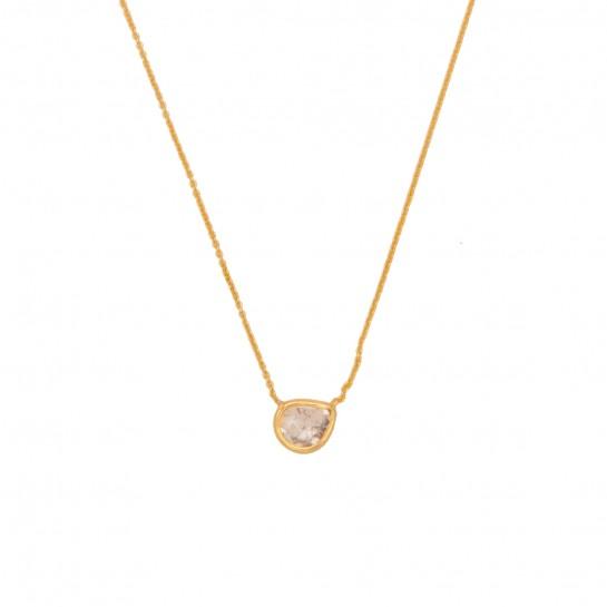 Collier Diamant Brut