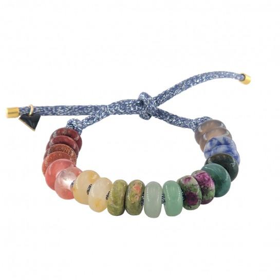 Bracelet DIY bleu