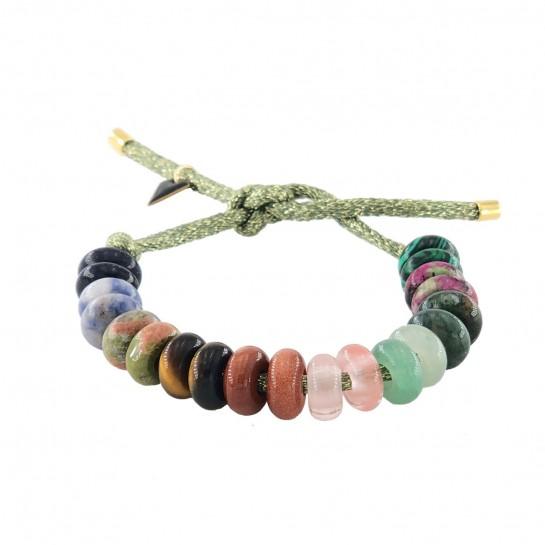 Bracelet DIY vert