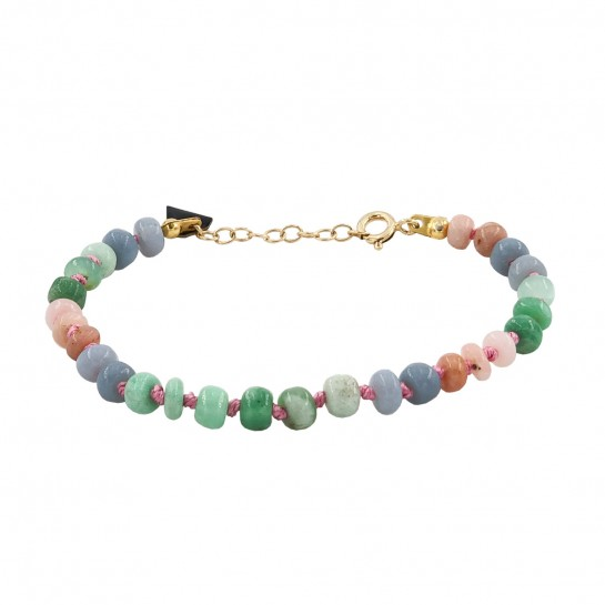 Bracelet Candies opale pastel