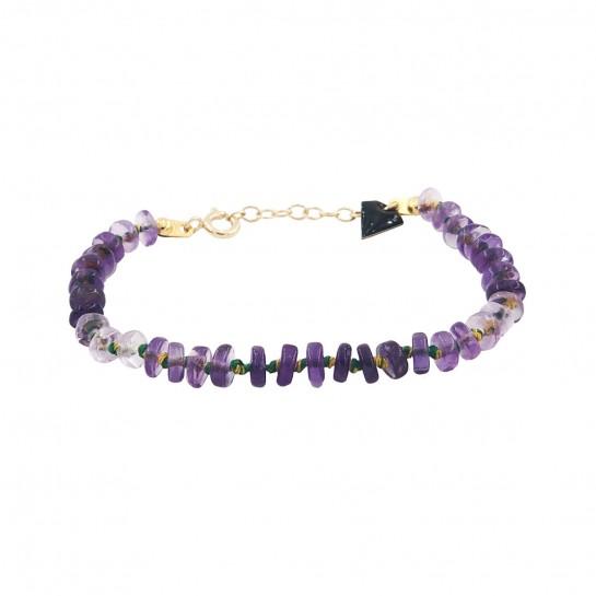 Bracelet Candies améthyste