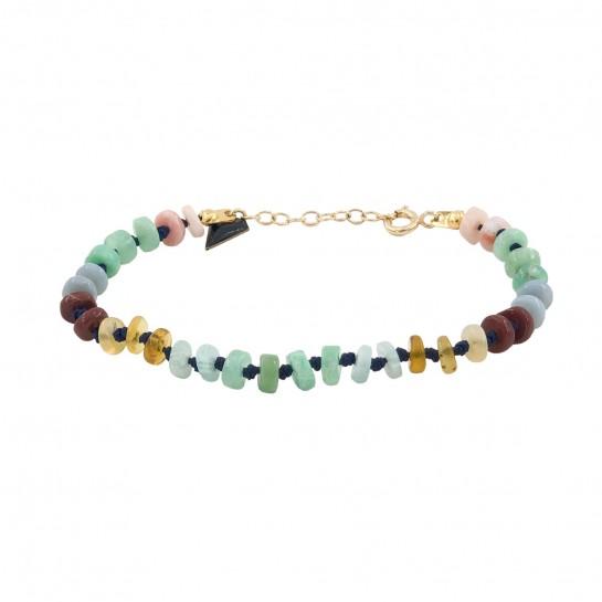 Bracelet Candies opale multi