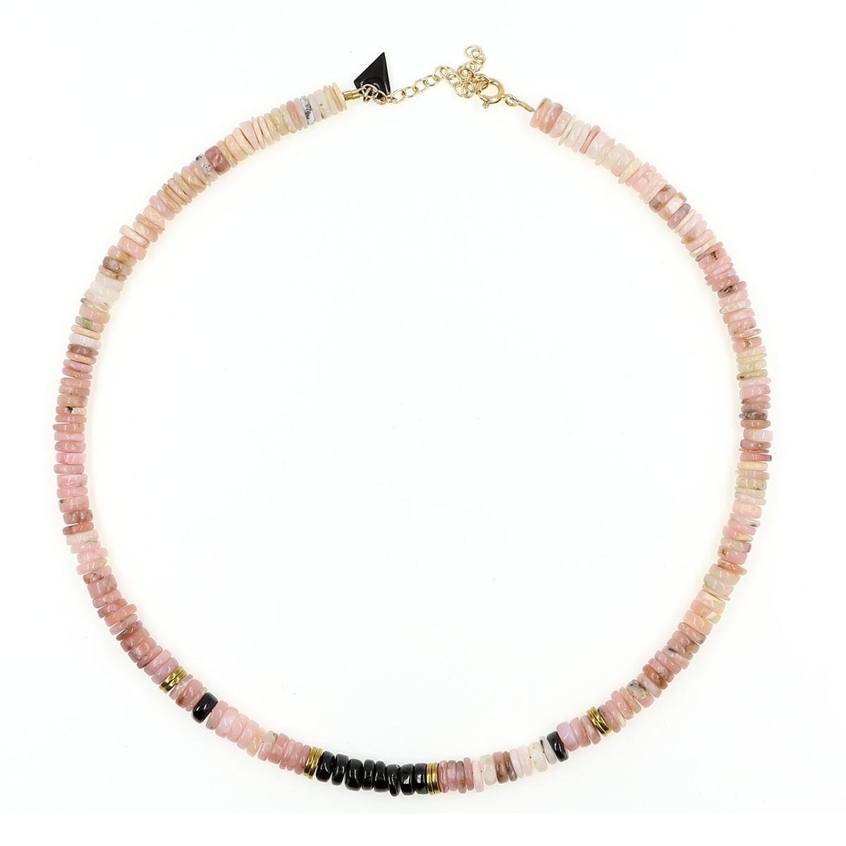 Collier Puka  opale