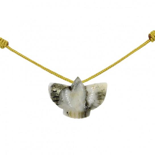 Collier Condor calcédoine