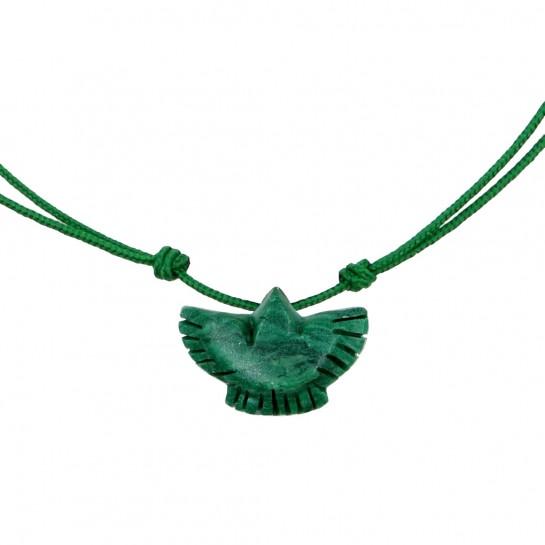 Collier Condor jade
