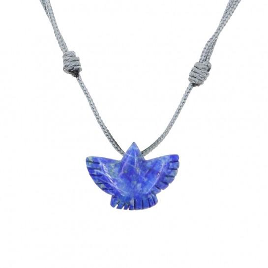 Collier Condor lapis-lazuli